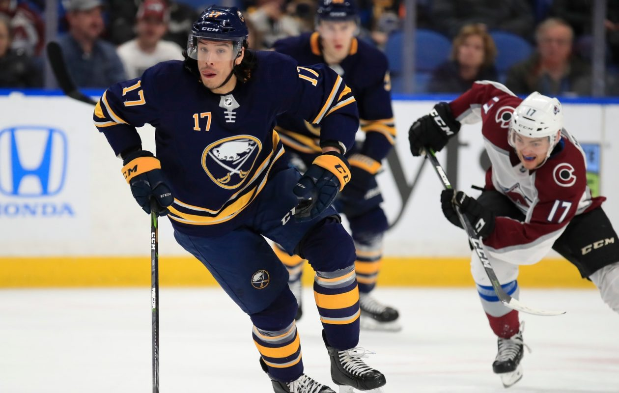 There's no chance at the playoffs, but the Sabres' Jordan Nolan says the players have other motivations. (Harry Scull Jr./Buffalo News)