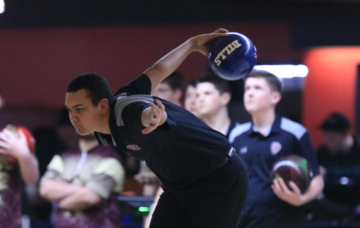 Thomas Klenke has a 224 average this season to lead Orchard Park. Klenke is a two-time state tournament participant. (Harry Scull Jr./ Buffalo News)