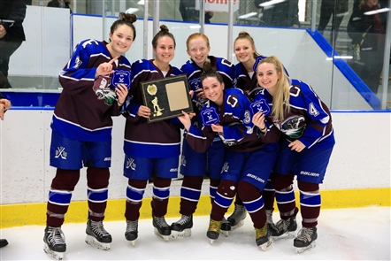 Section VI girls hockey championship: Frontier/Lakeshore/Orchard Park 3, Williamsville 1