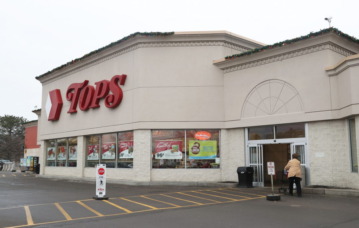 Hefty debt and sluggish sales pushed Tops Markets into bankruptcy. (Sharon Cantillon/Buffalo News)