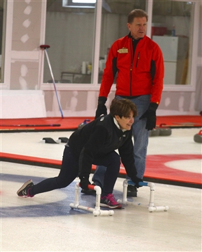 Lessons at the Buffalo Curling Club