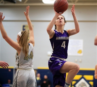 Hamburg 61, Kenmore East 45 in Class A-1 girls sectional quarterfinal