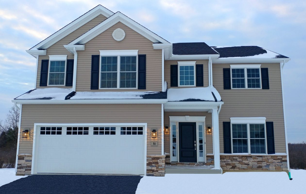 A new home model by Essex Homes at Knoche Farms in Orchard Park. (Provided by Essex Homes)
