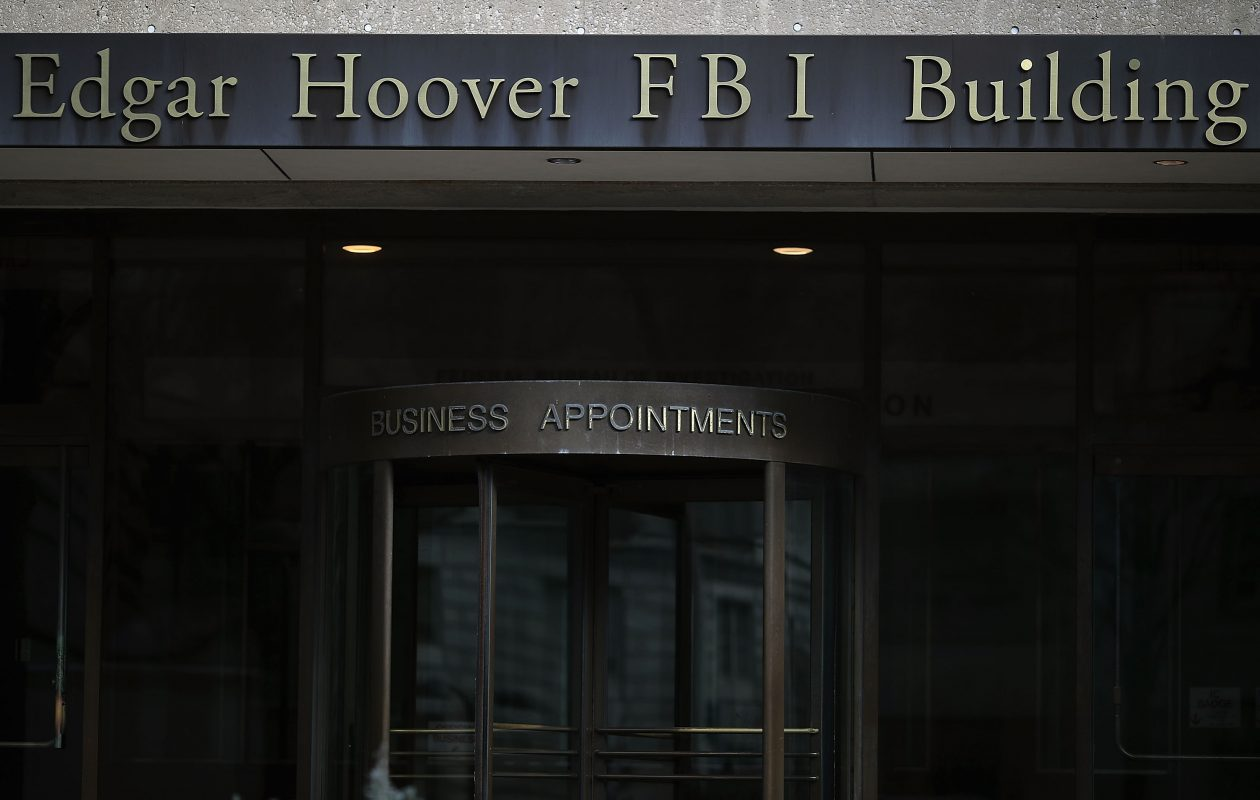 The FBI headquarters is seen on February 2, 2018 in Washington, DC. (Getty Images)