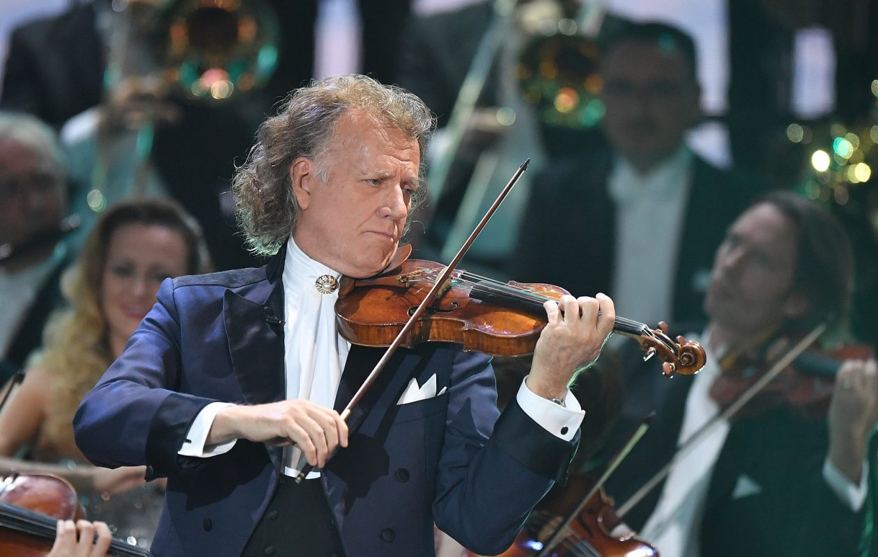 Andre Rieu will perform Sept. 29 at KeyBank Center. (Getty Images)