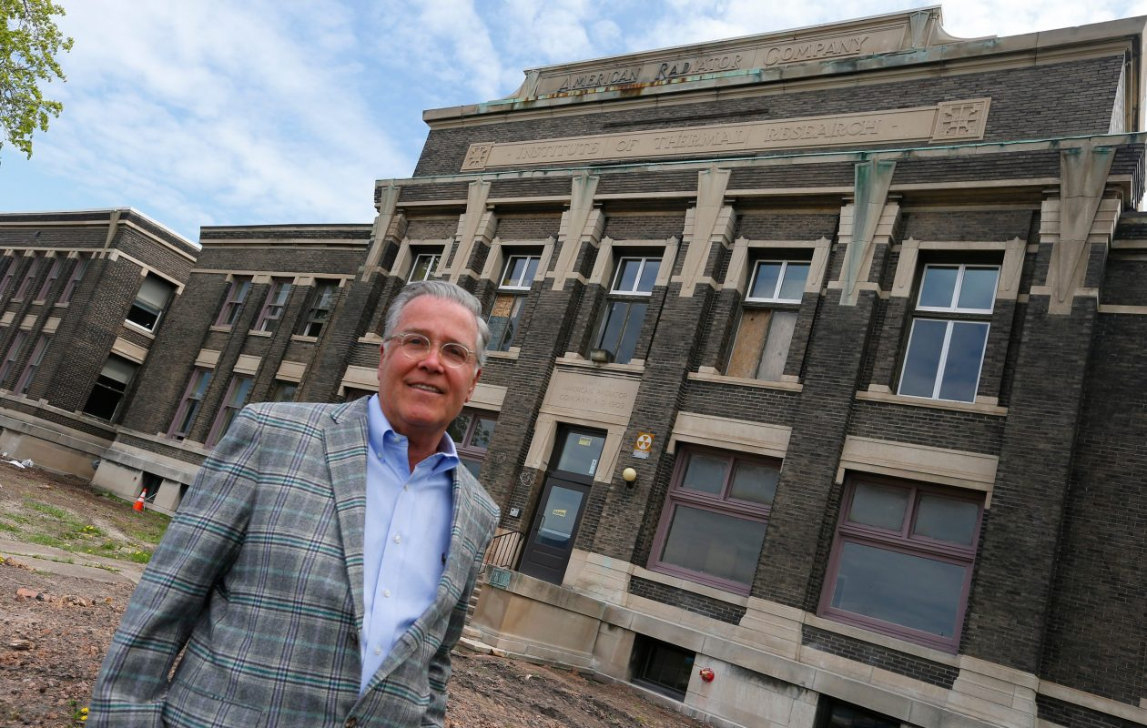 'Without a strong state historic tax credit, projects like mine simply can't happen,' said developer Rocco Termini, who has used the tax credits for several redevelopment projects including a loft project at the former American Radiator Co. building on Elmwood Avenue. (Buffalo News file photo