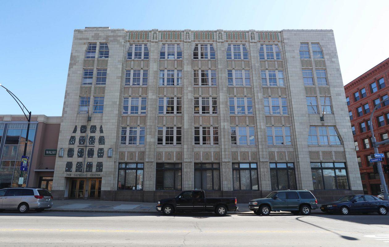 The headquarters of the Catholic Diocese of Buffalo on Tuesday, Feb. 27, 2018. (Sharon Cantillon/Buffalo News)