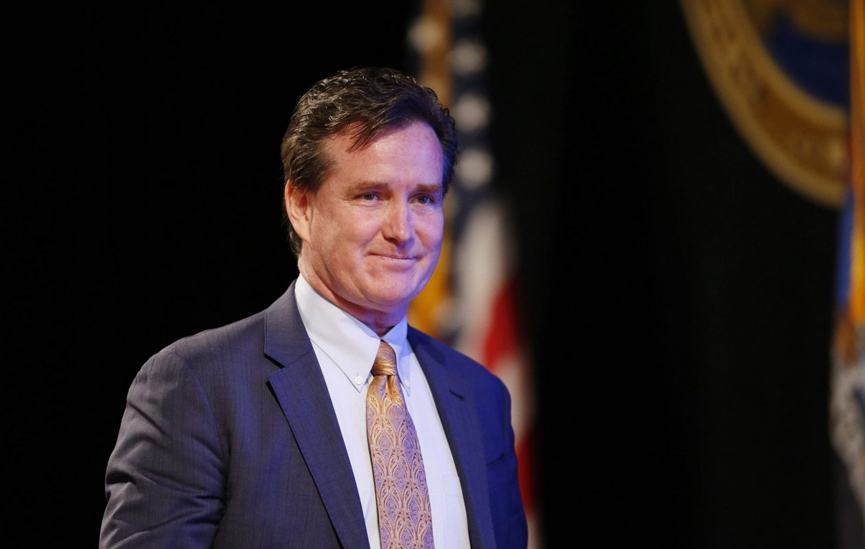State Senate President and Majority Leader John J. Flanagan wants Gov. Cuomo to cut taxes. (Derek Gee/Buffalo News)