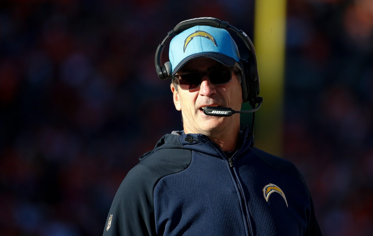 Frank Reich also worked as offensive coordinator for the San Diego Chargers. (Sean M. Haffey/Getty Images)