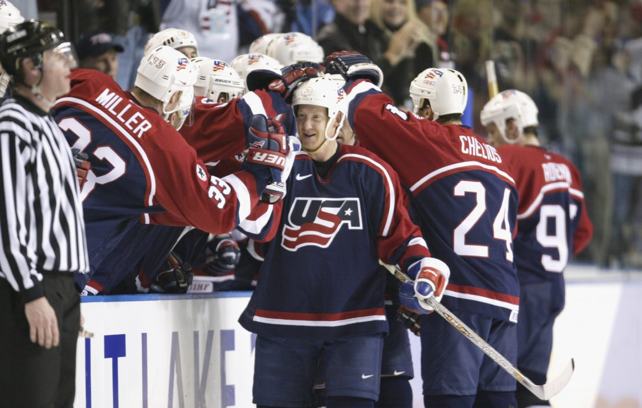 Phil Housley felt the love for Team USA during the 2002 Winter Olympics. (Getty Images)