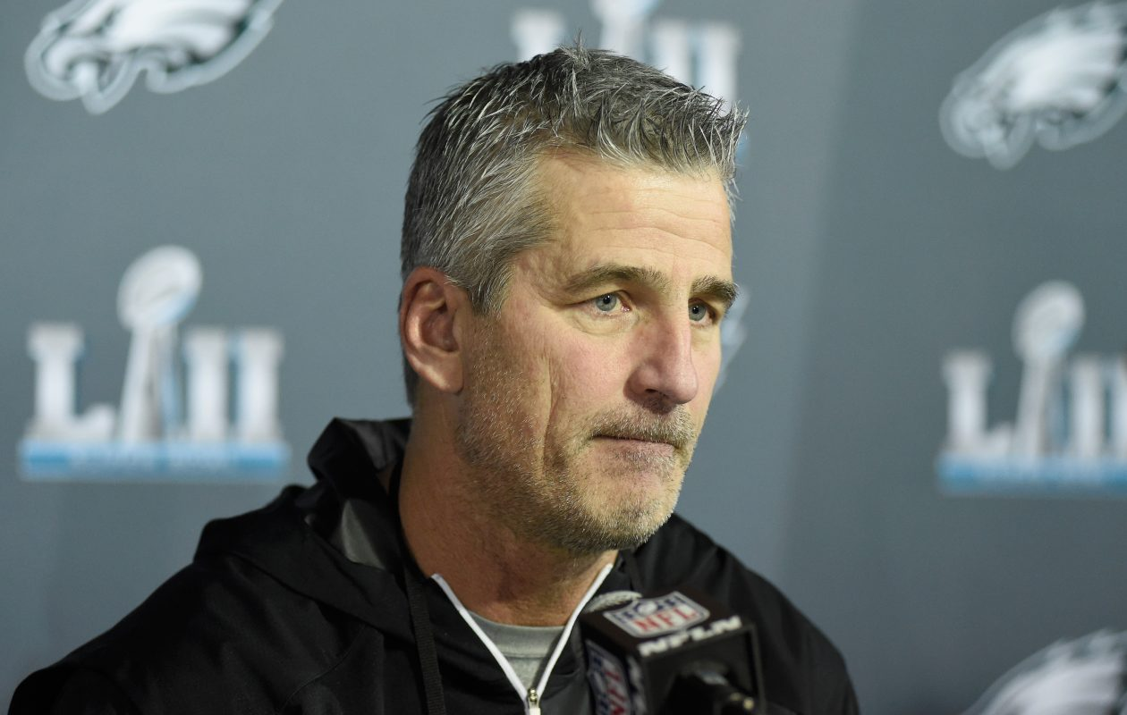 Eagles offensive coordinator Frank Reich was named the next Colts' coach. (Getty Images)