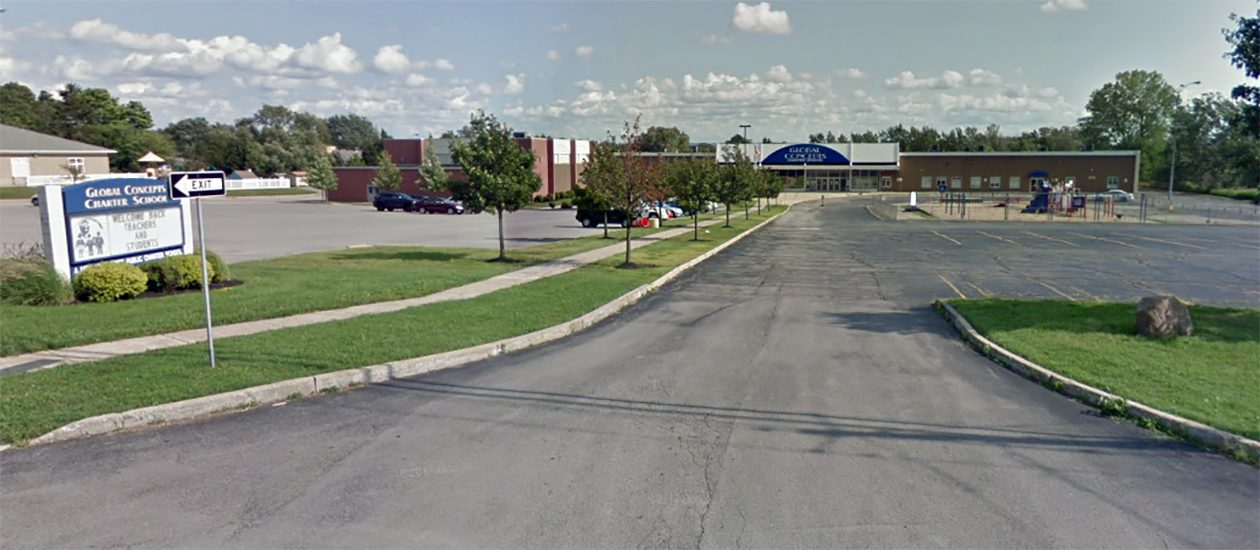Global Concepts Charter School is the ninth charter school in the region to be affiliated with NYSUT. (Google Maps image)