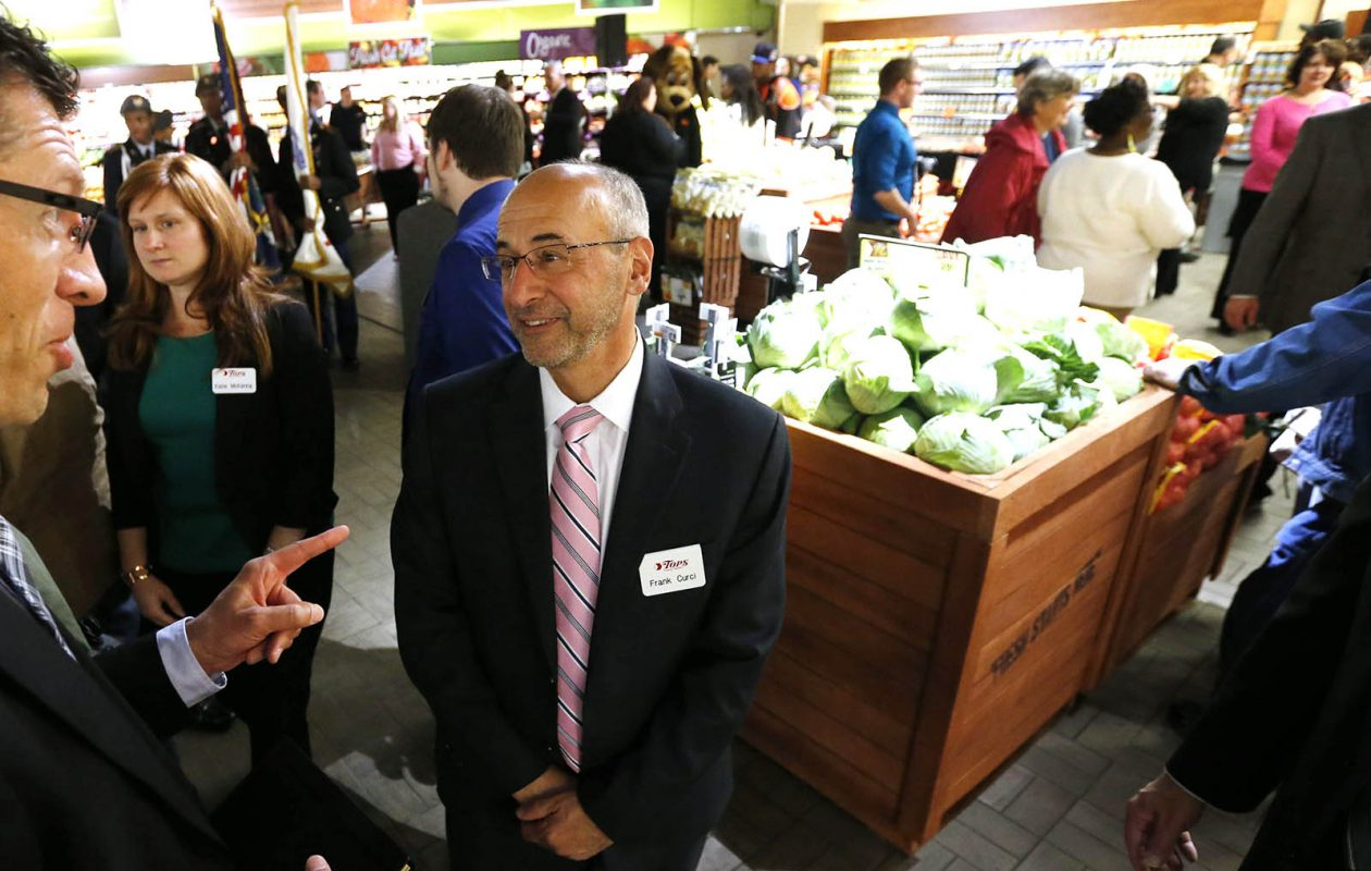 Frank Curci, chairman and CEO of Tops Markets, owns nearly two-thirds of the company's common stock. (Derek Gee/News file photo)