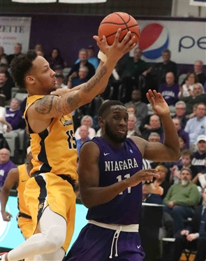 Canisius Golden Griffins 95, Niagara Purple Eagles 88