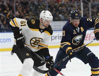 Buffalo Sabres 4, Boston Bruins 1