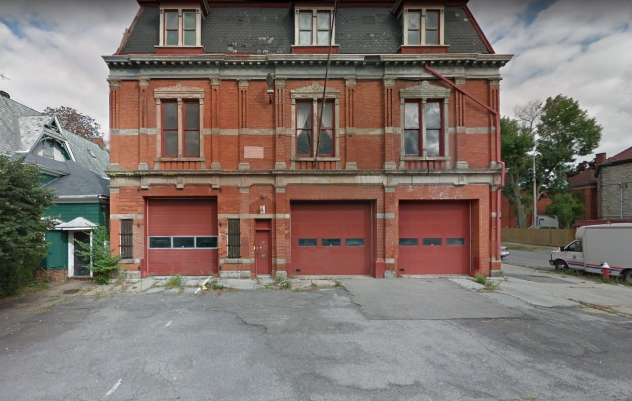 The Jersey Street Firehouse, built in 1875,  was added to the National Register of Historic Places in 2011. (Google)