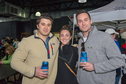 Smiles at Labatt Pond Hockey Tournament