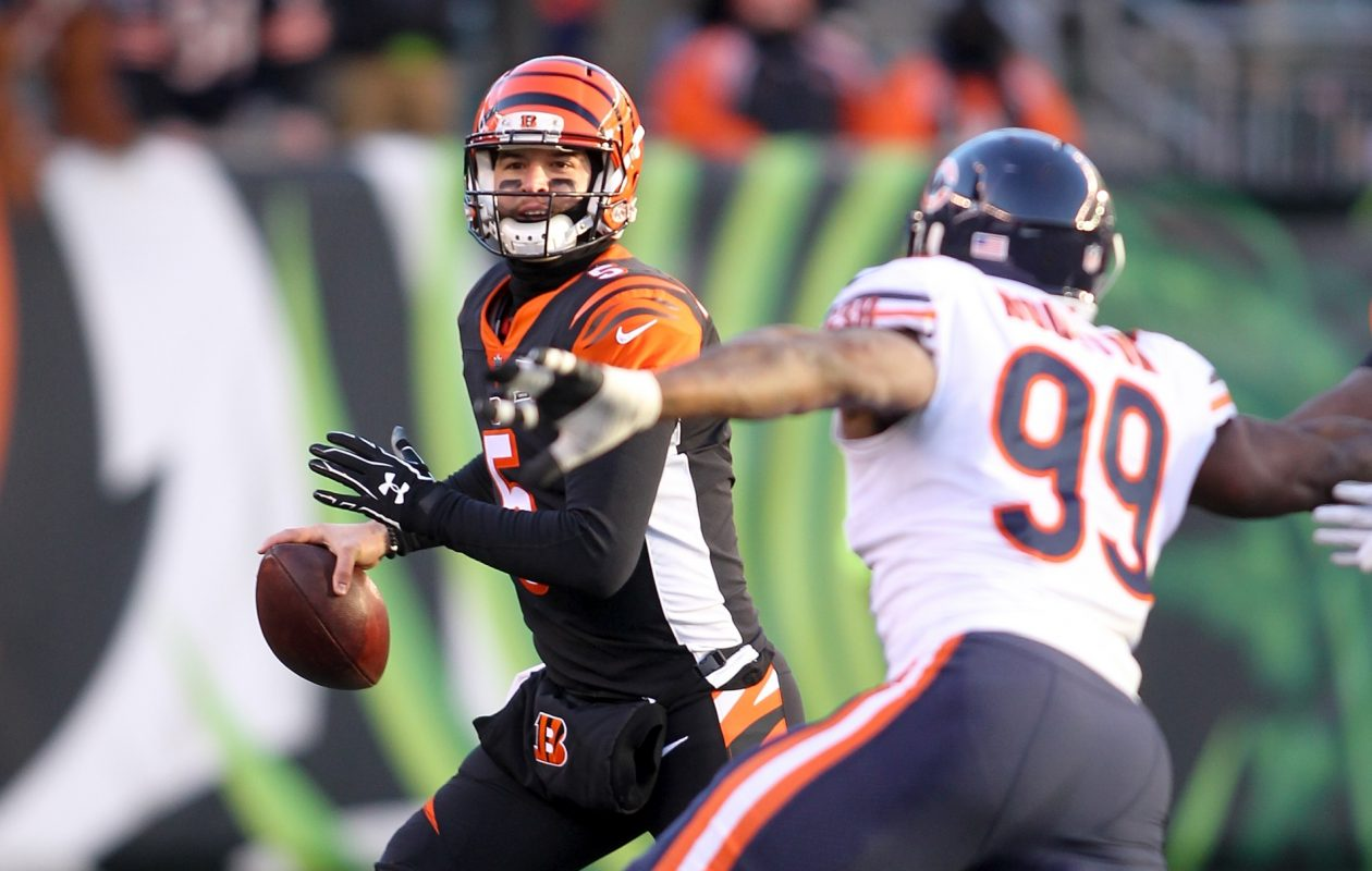 New Bills Quarterback Aj Mccarron Appeared In Satu Games Over The Past Four Seasons With The