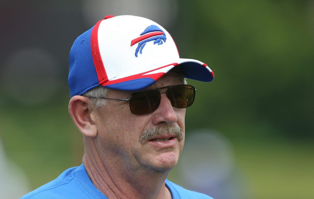 Buffalo Bills trainer Bud Carpenter, pictured at training camp in 2014, has retired.  (James P. McCoy/ Buffalo News)