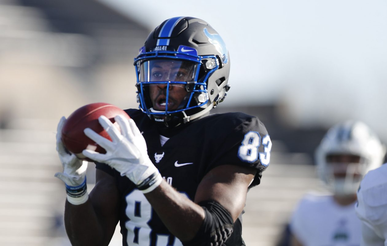 Anthony Johnson is among  the top wide receivers in the nation (Mark Mulville/Buffalo News)
