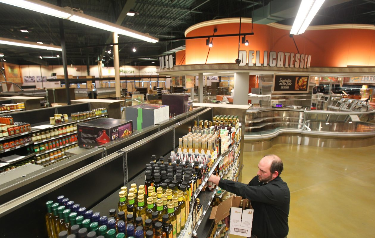 The Orchard Fresh store in Orchard Park, shown here before it opened in 2013, was Tops' response to the growing popularity of organic foods and the success of grocers like Whole Foods.  (Mark Mulville/News file photo)