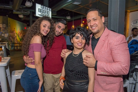 Baila Salsa Dance taught a variety of salsa branches, including bachata, merengue and Kizomba, on Friday, Feb. 23, 2018, in EXPO Market in downtown Buffalo. See who learned, then let loose.