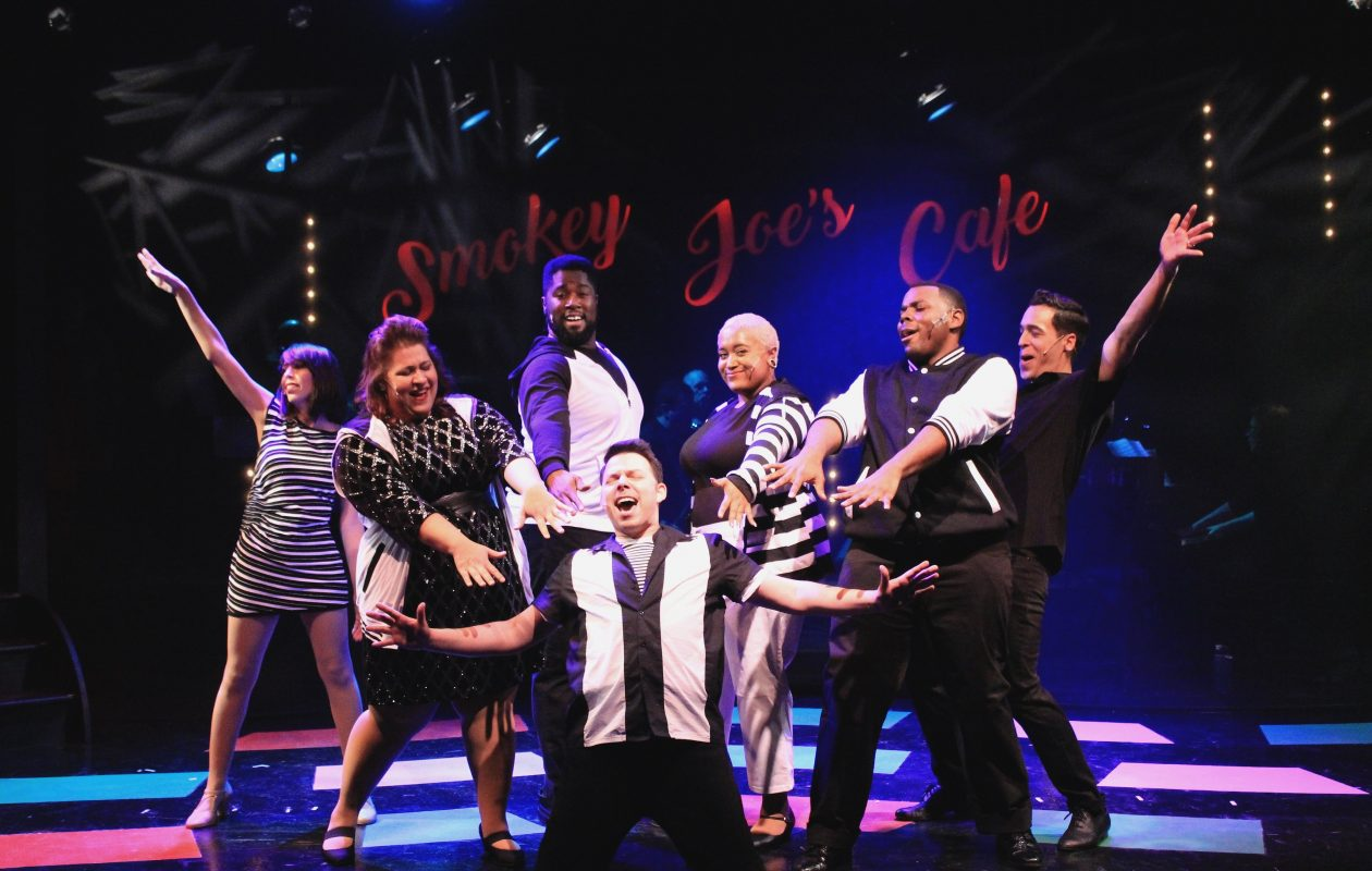 Smokey Joes Cafe at MusicalFare Theatre is packed with the music of Jerry Leiber and Mike Stoller.
