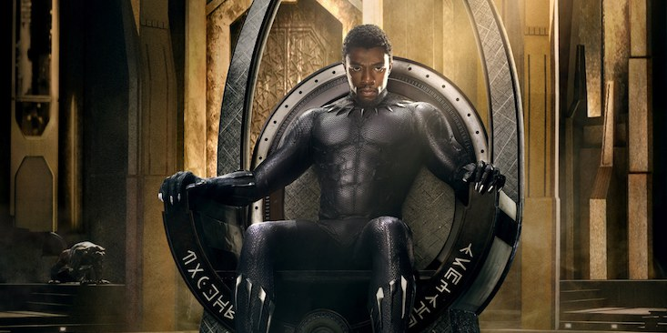 Chadwick Boseman has the title role in 'Black Panther.'