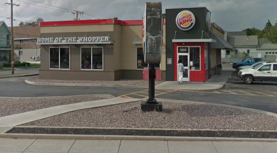 The Burger King on Broadway in Buffalo. (Google image)