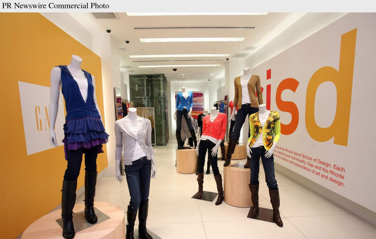 Gap's rotating concept store on New York City's Fifth Avenue. (Contributed photo)