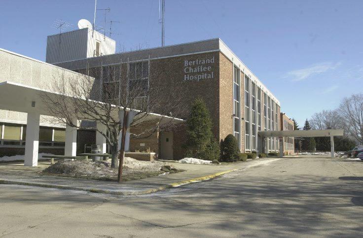 Bertrand Chaffee Hospital. (News file photo)