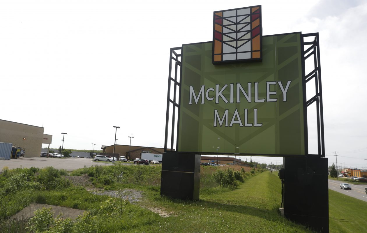 McKinley Mall, like most second-tier, enclosed shopping malls, is struggling with vacancies. (John Hickey/Buffalo News)