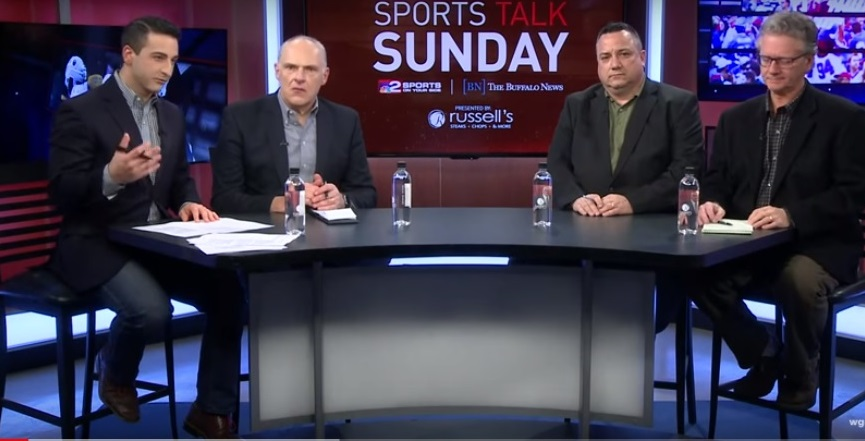 WGRZ's Jonah Javad with Vic Carucci, Bucky Gleason and Jerry Sullivan on this week's Sports Talk.