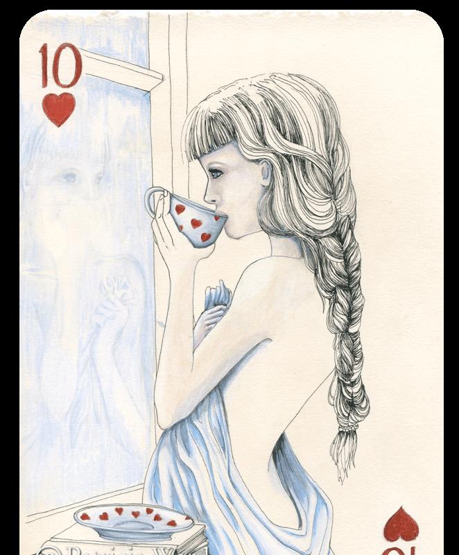 Ten of Hearts by Patricia Ward