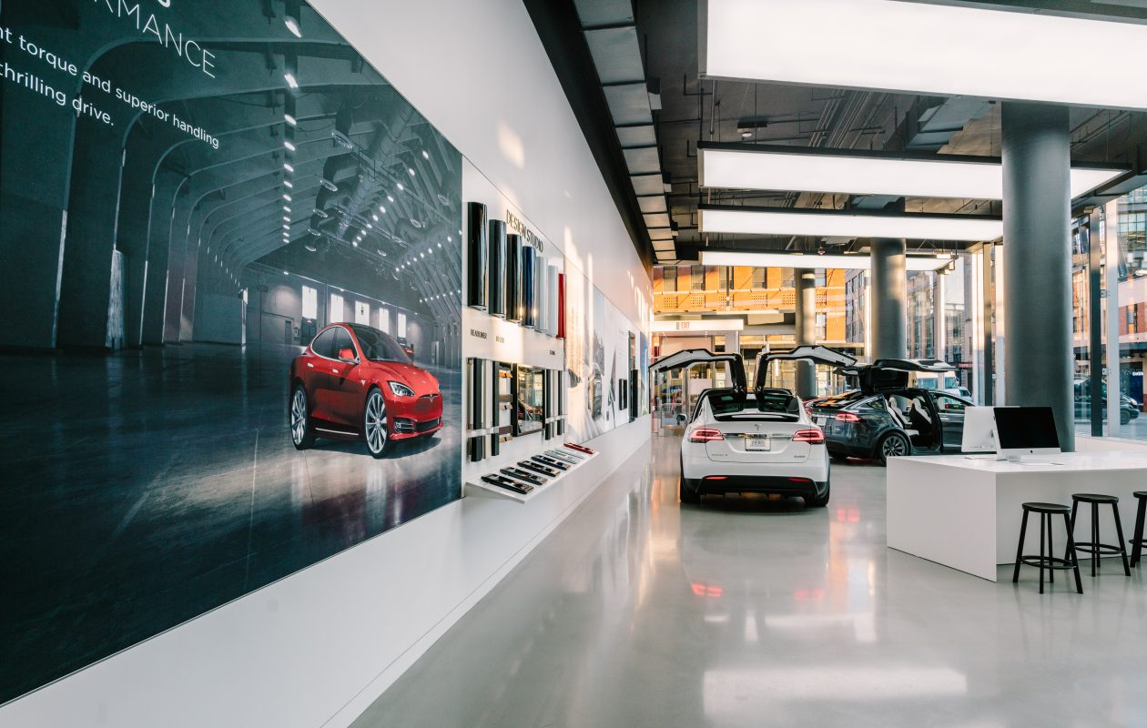 Tesla wants to open a store like this one in Buffalo. (Photo provided by Tesla)