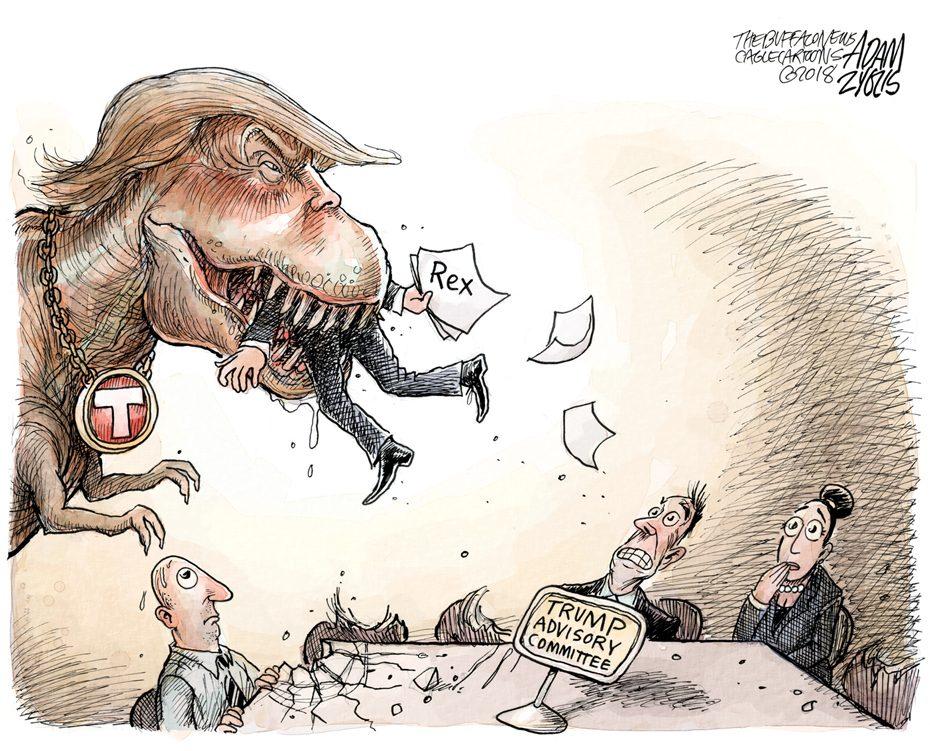 Tillerson: March 14, 2018