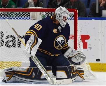 The many looks of Sabres goalie Robin Lehner