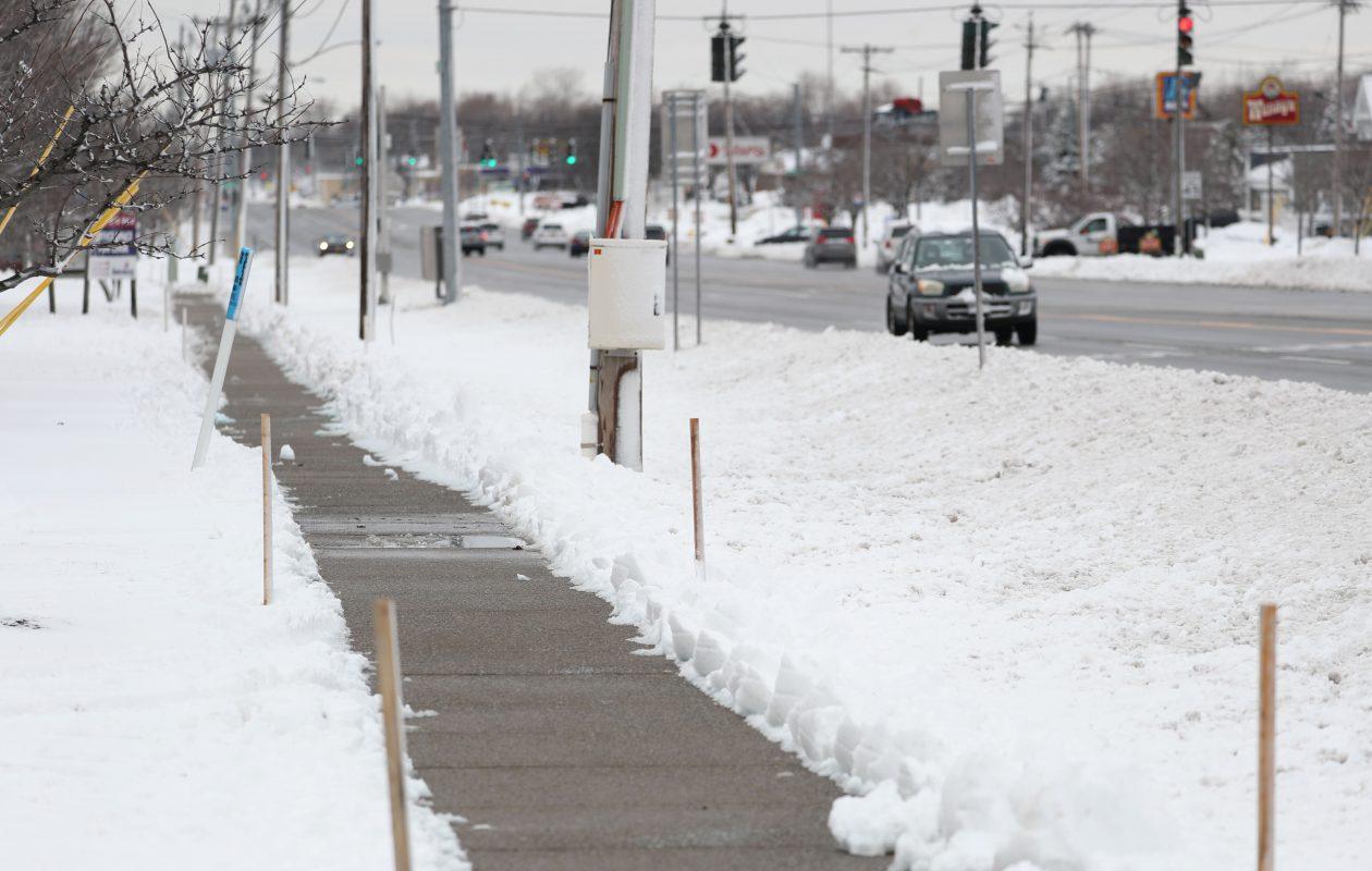 Another March day, another snowfall around the Buffalo Niagara region. (Sharon Cantillon/Buffalo News)