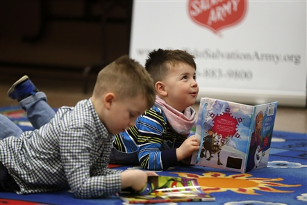 The Annual Books for Kids Campaign kicks off