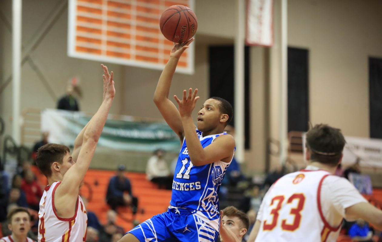 Health Sciences forward Tysheen Lott averages 9 points per game. (Harry Scull Jr./ Buffalo News)