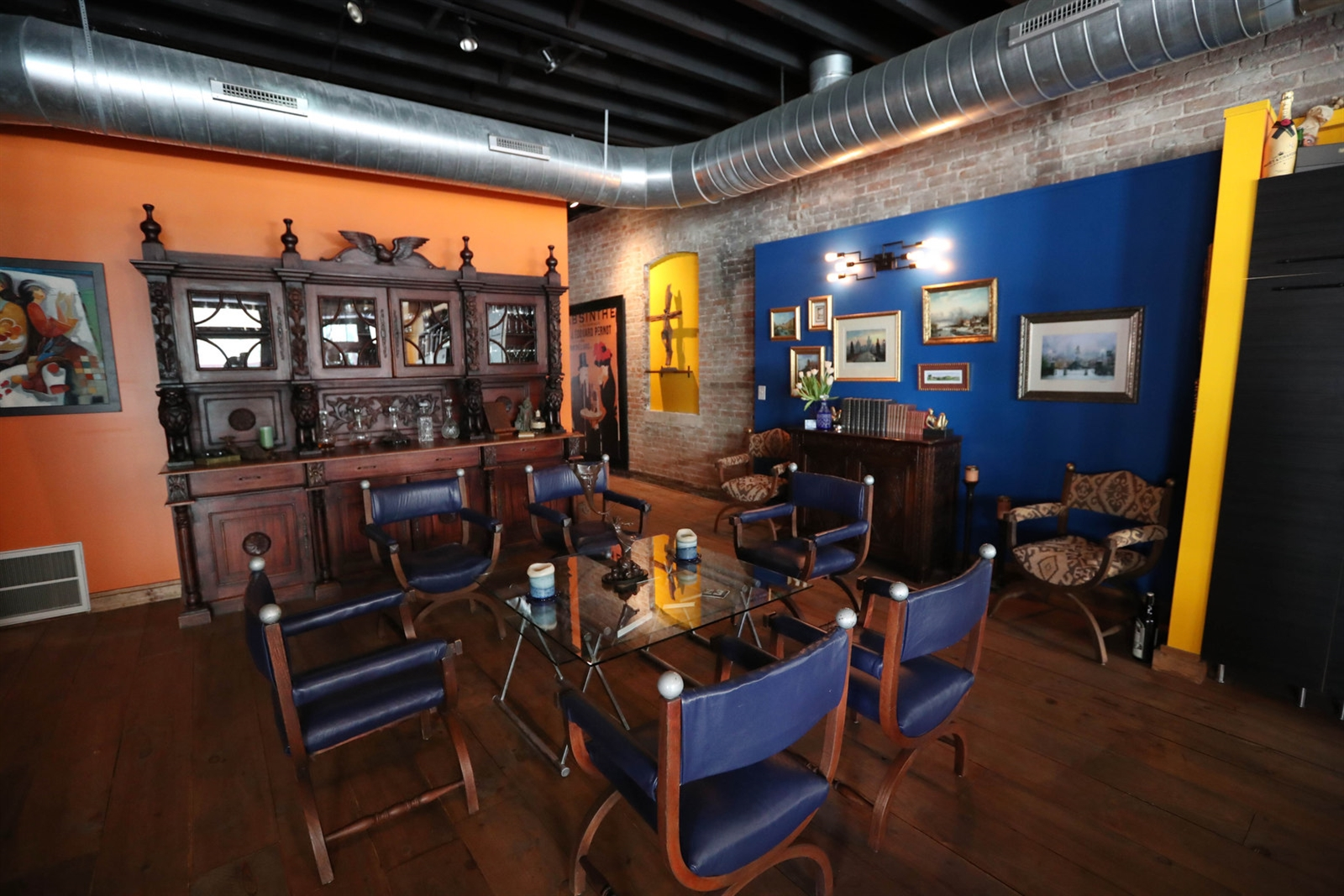 Sandra and Paul Wilkins renovated the three-story building they bought in 2011 in downtown Buffalo. Their residence is on the two upper floors. Their restaurant, Raclettes, is on the first floor.