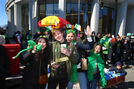 Irish pride on display: The annual St. Patrick's Day Parade