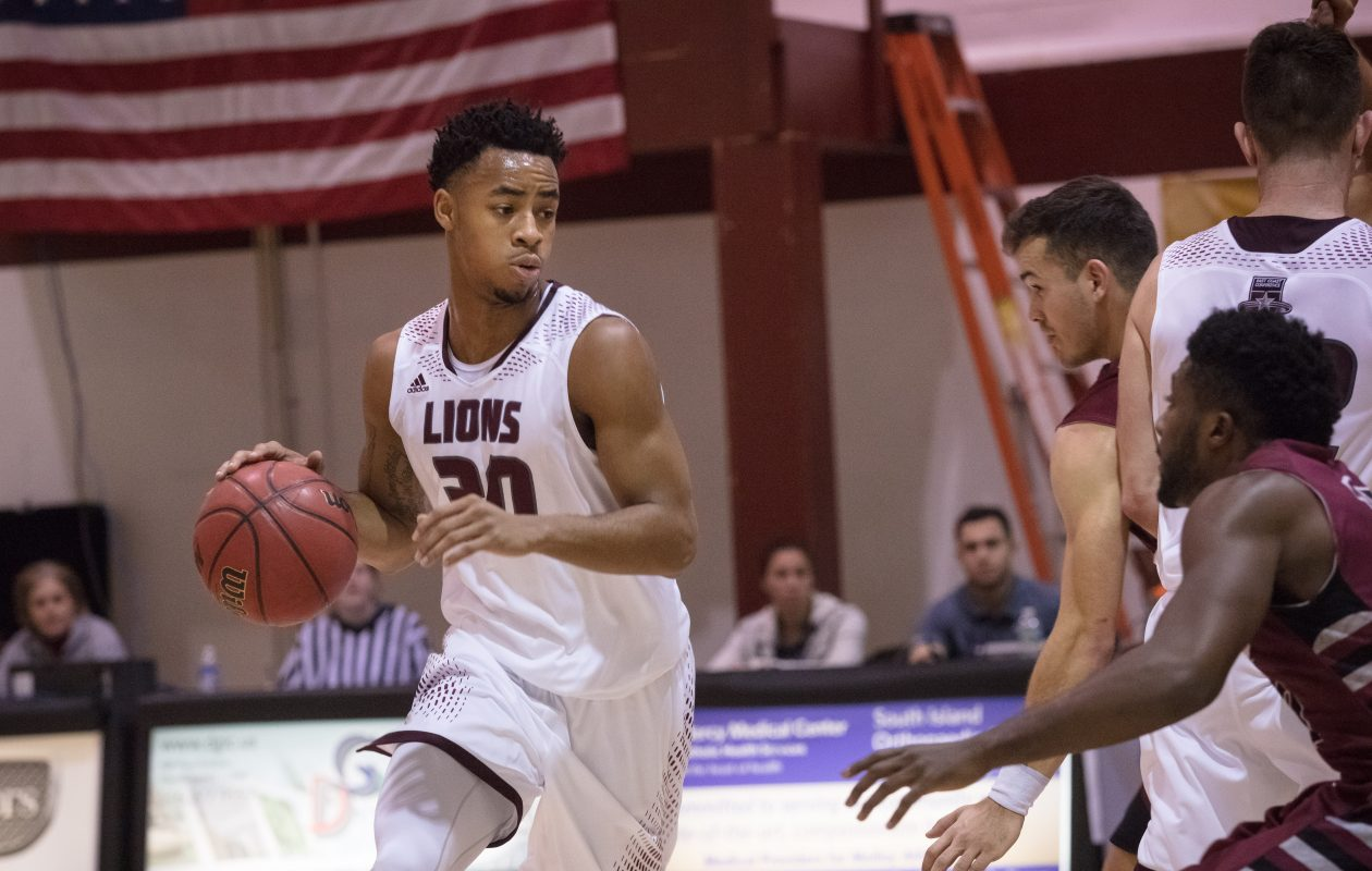 Jaylen Morris graduated fourth on Molloy College's all-time scoring list with 1,618 points. (Photo courtesy of Molloy Athletics)
