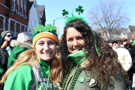 Smiles at Old Neighborhood Saint Patrick's Day Parade