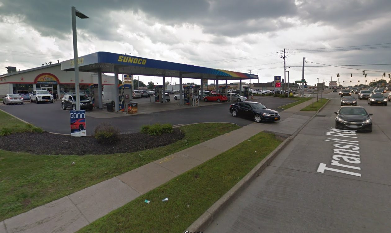 This Sunoco station and Aplus mini-mart at 8000 Main St., at Transit Road, is among 16 area Sunoco sites sold to 7-Eleven Inc. as part of a $3.3 billion national deal.