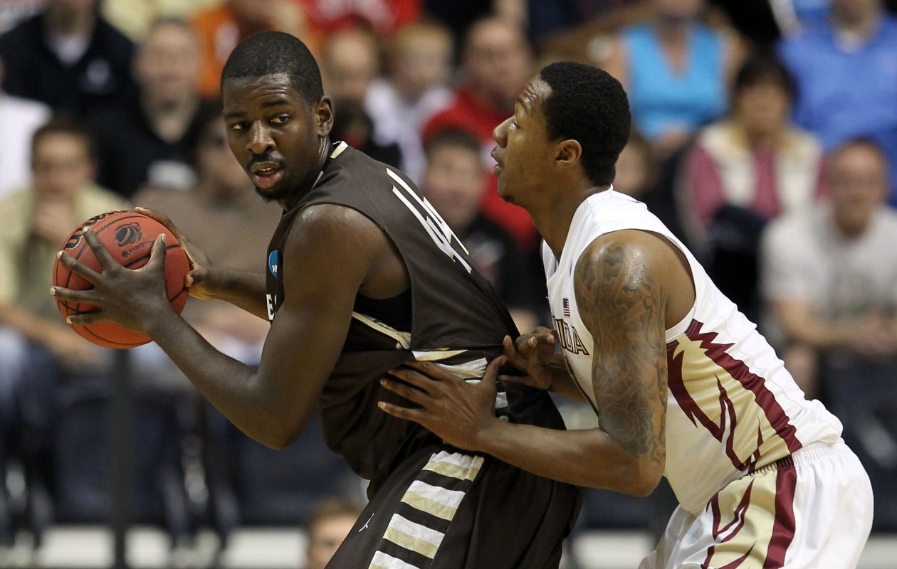 Bona's  Andrew Nicholson looks to maneuver against Florida State during the 2012 NCAA Tournament. (Getty Images)