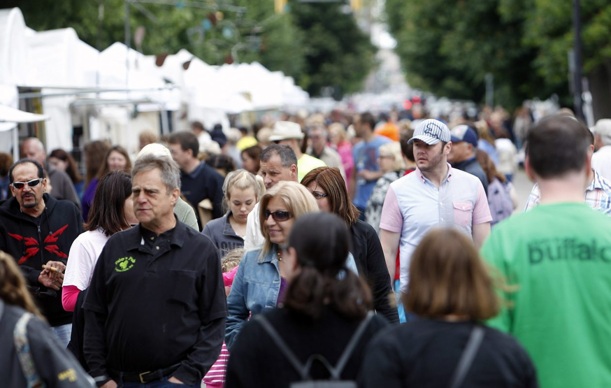 The latest census data shows population in Erie County is up 2,412 residents over 2010. (Sharon Cantillon/News file photo)