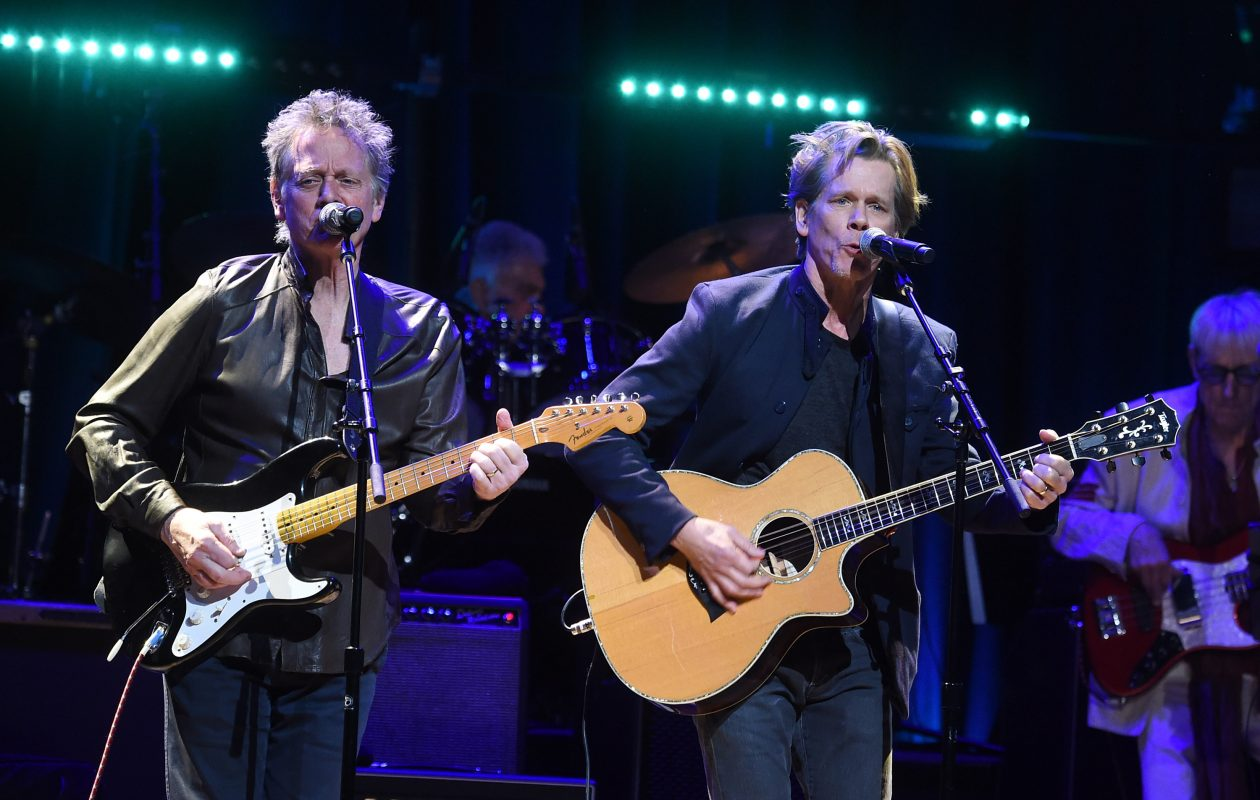 Michael Bacon, left, and Kevin Bacon will perform at the Seneca Niagara Casino. (Getty Images)