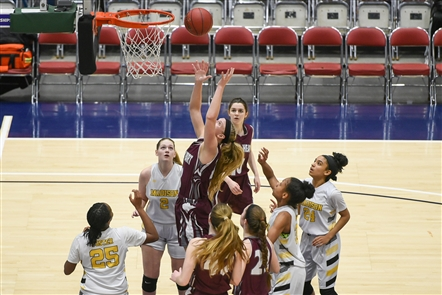 Sacred Heart's season ended on the third-to-last day of the New York State girls basketball season -- in the Class A semifinals at the New York State Federation Tournament of Champions.