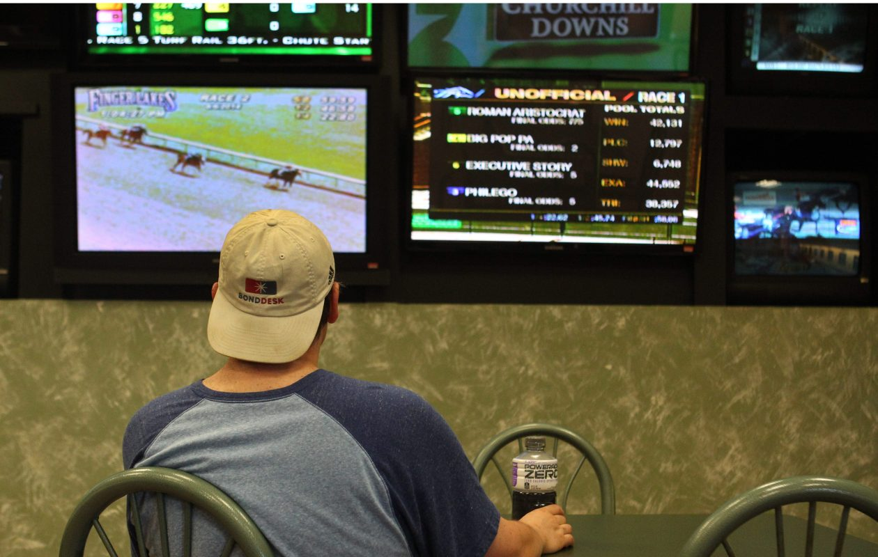 """One proposal would allow four casinos to have """"affiliate"""" deals with off-track betting corporations that now accept wagers on horse racing, as well as tracks that offer betting via slot devices called video lottery terminals.  (Sharon Cantillon/News file photo)"""